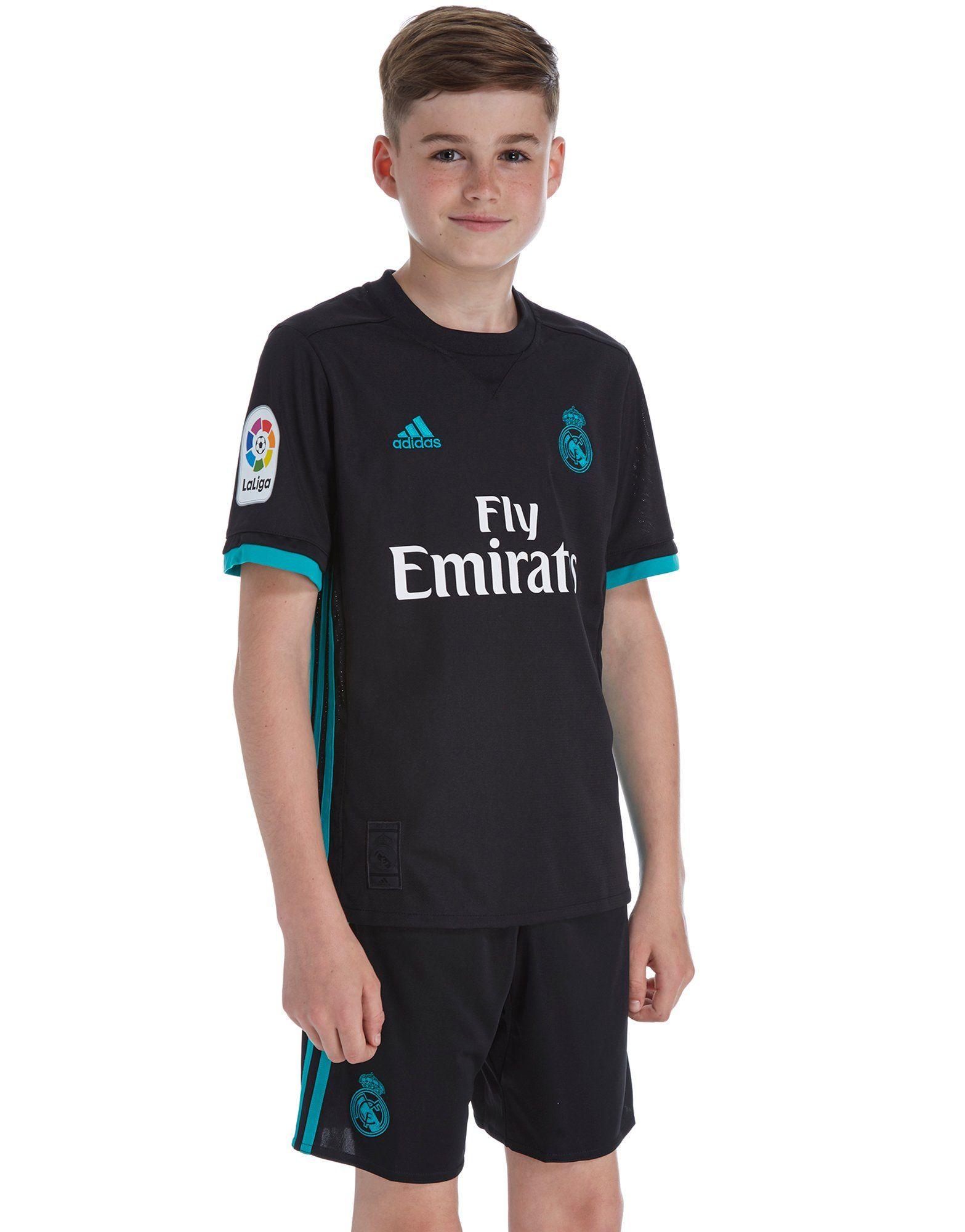 adidas Real Madrid 2017/18 Away Shorts Junior