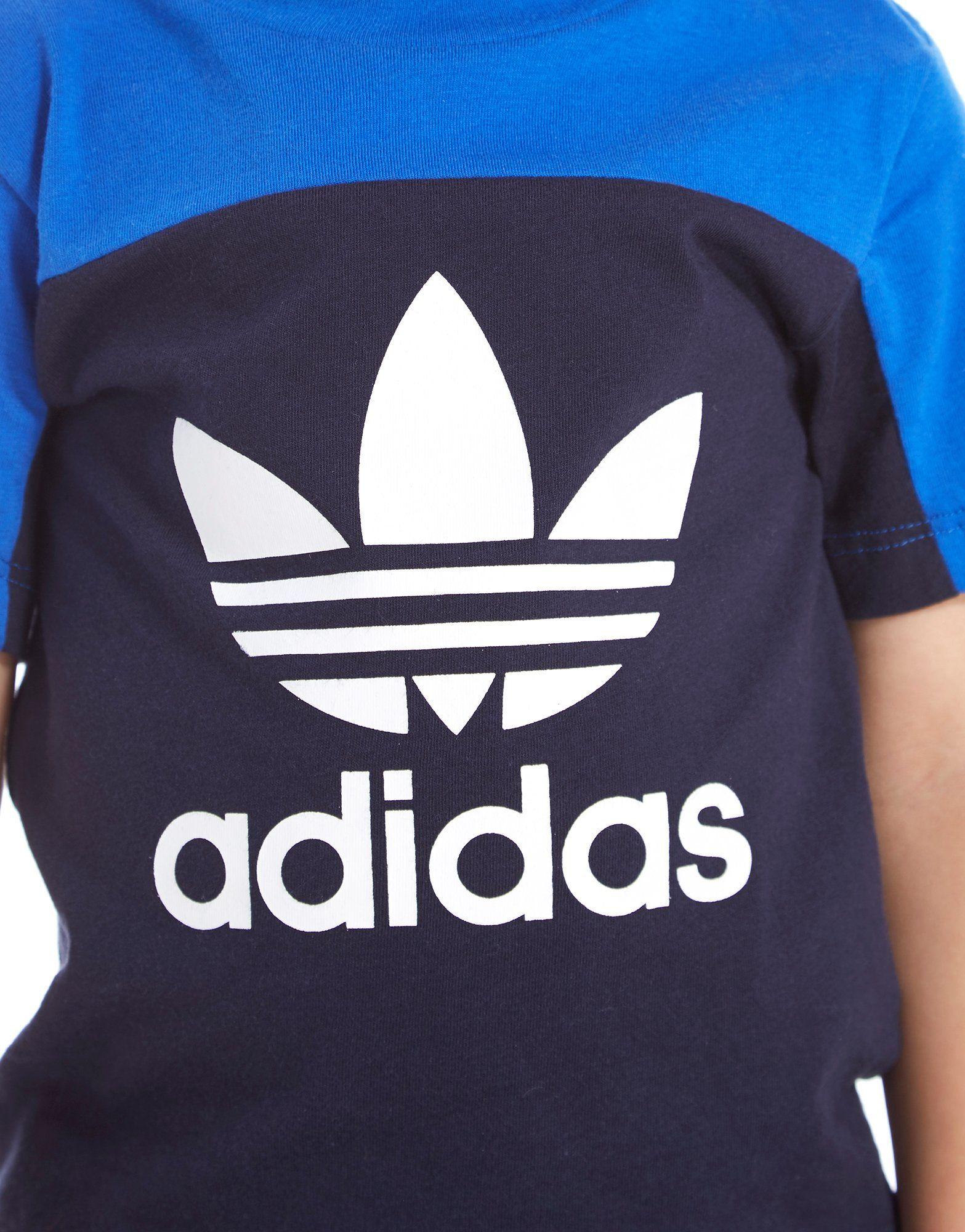 adidas Originals T-shirt Trefoil Colour Block Bébé