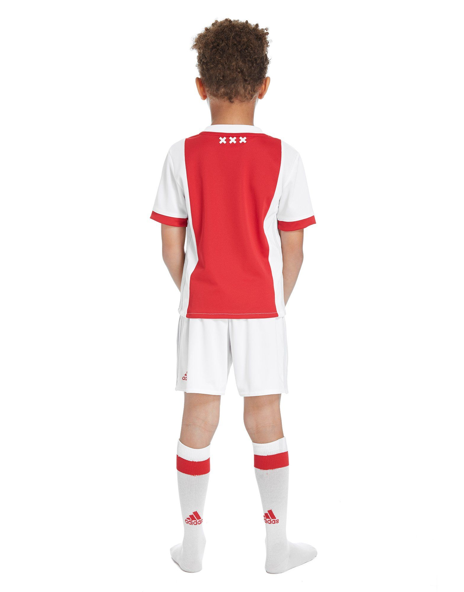 adidas Ajax 2017/18 Home Kit Children
