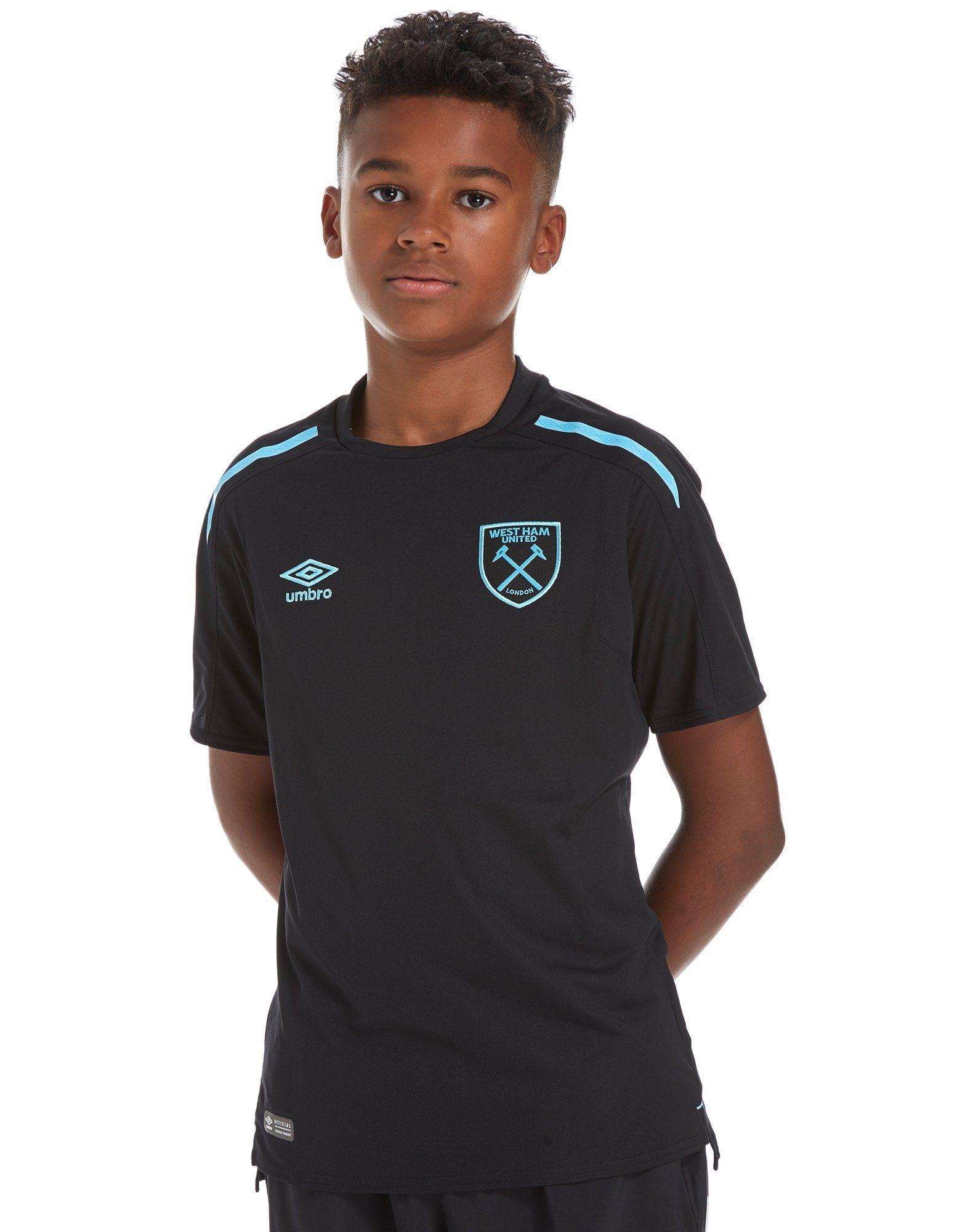 Umbro West Ham Utd 2017 18 Away Shirt Junior ... 9dab0ddff45