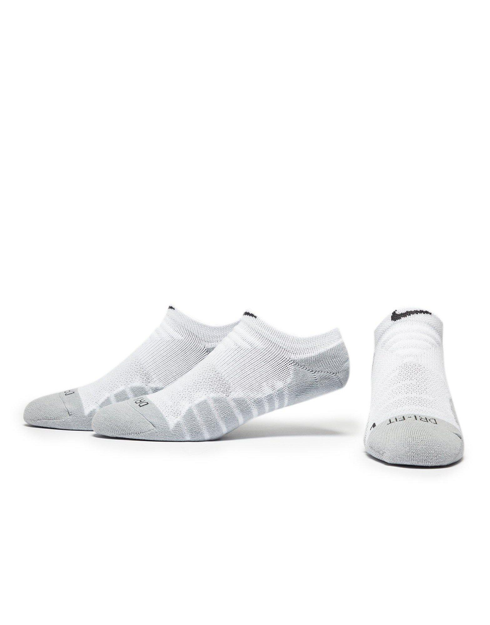 512012160a8 Nike Chaussettes 3 Pack No Show Running Femme