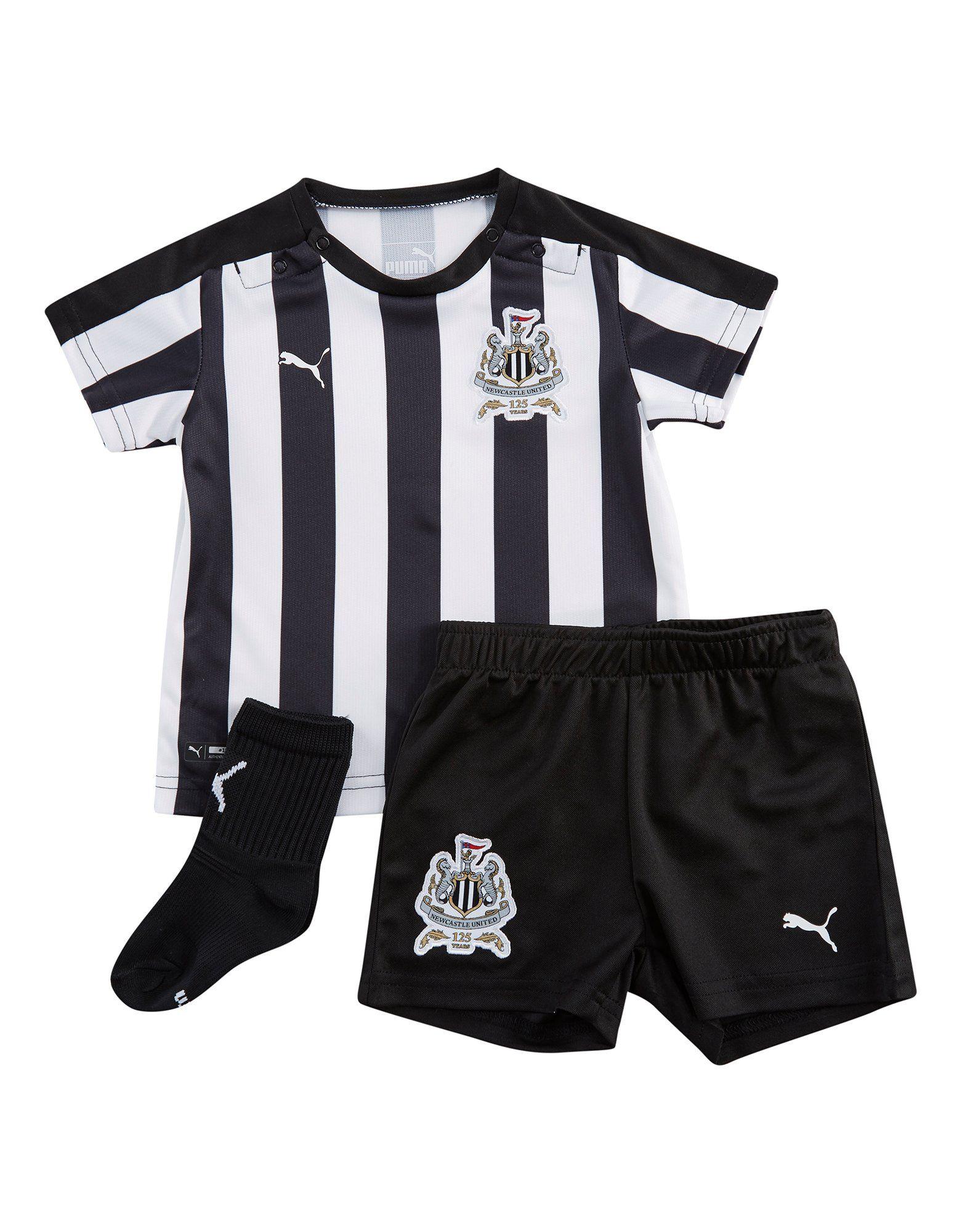 PUMA Newcastle United 2017/18 Home Kit Infant