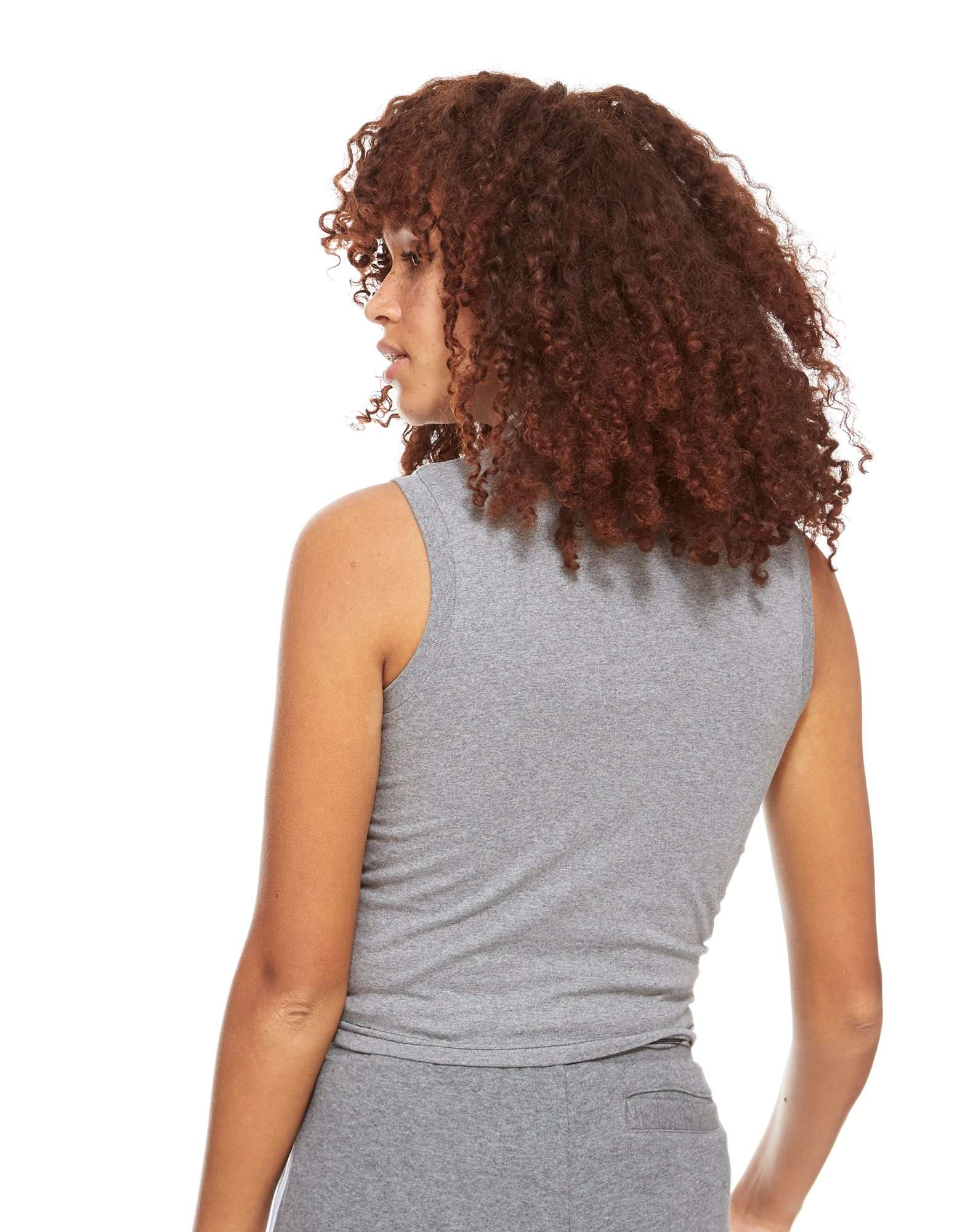 Fila Camiseta corta sin mangas con cremallera