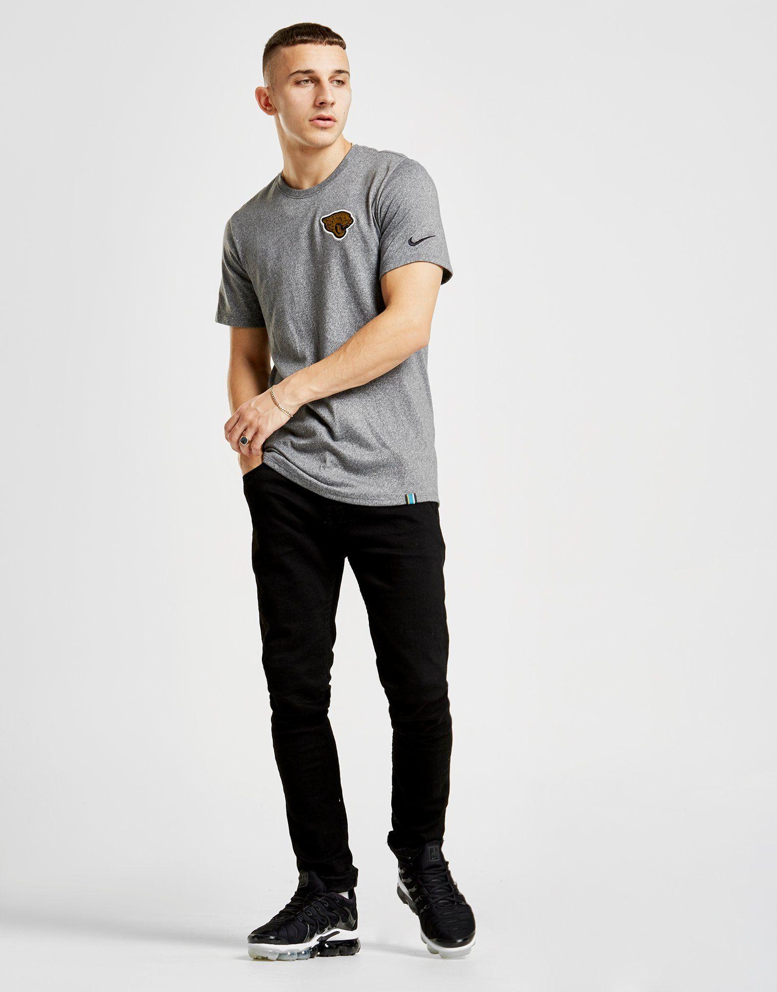 Nike NFL Jacksonville Jaguars T-Shirt Grau