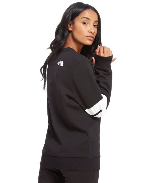 The North Face Sweat Stripe Sleeve Crew Sweater Femme