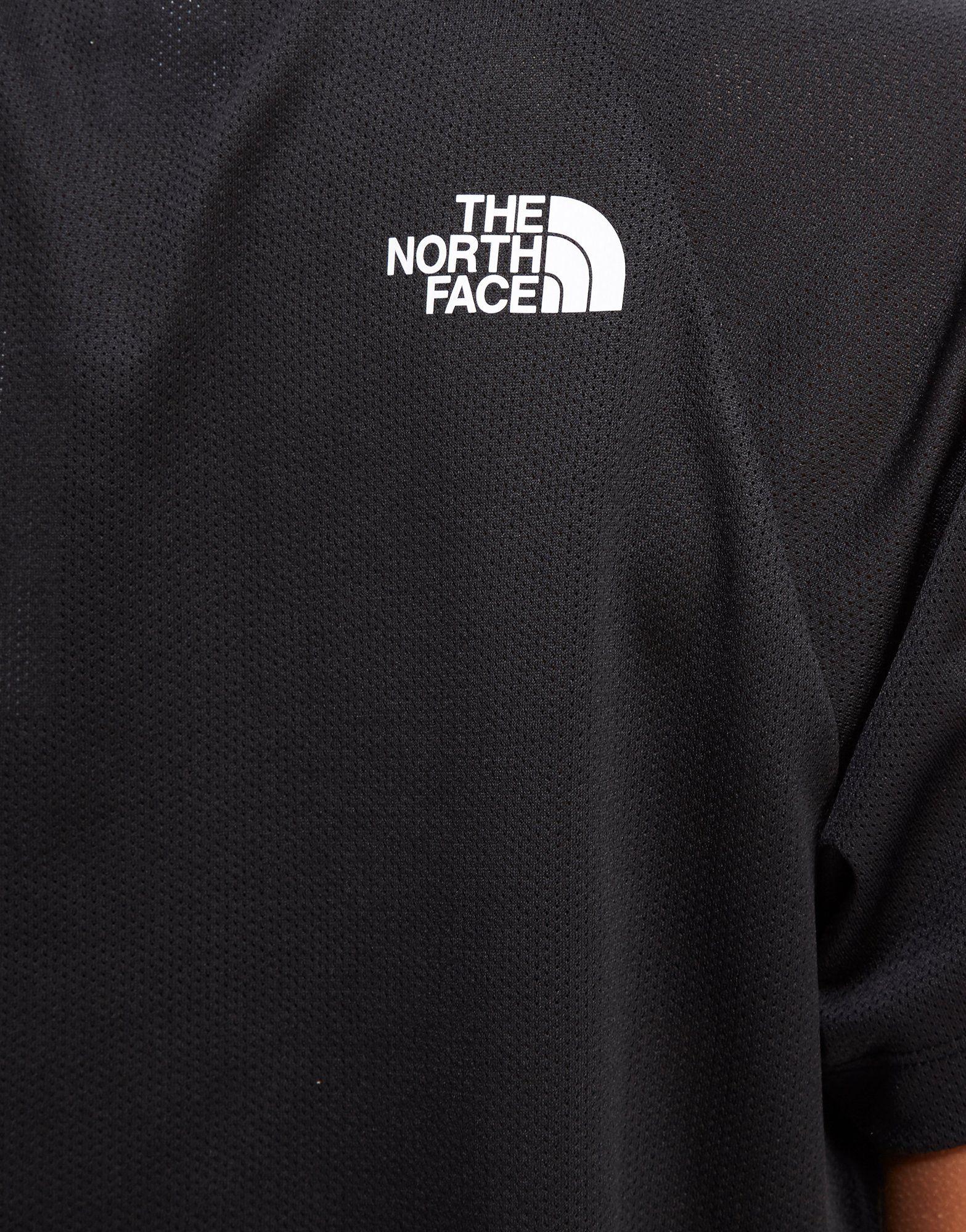 The North Face camiseta Mesh Crop
