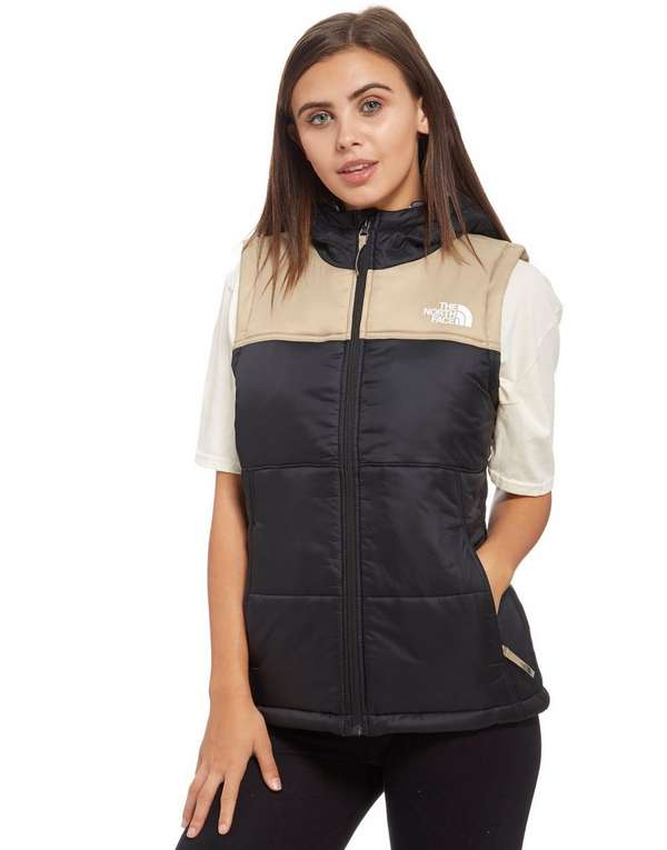 north face gilet