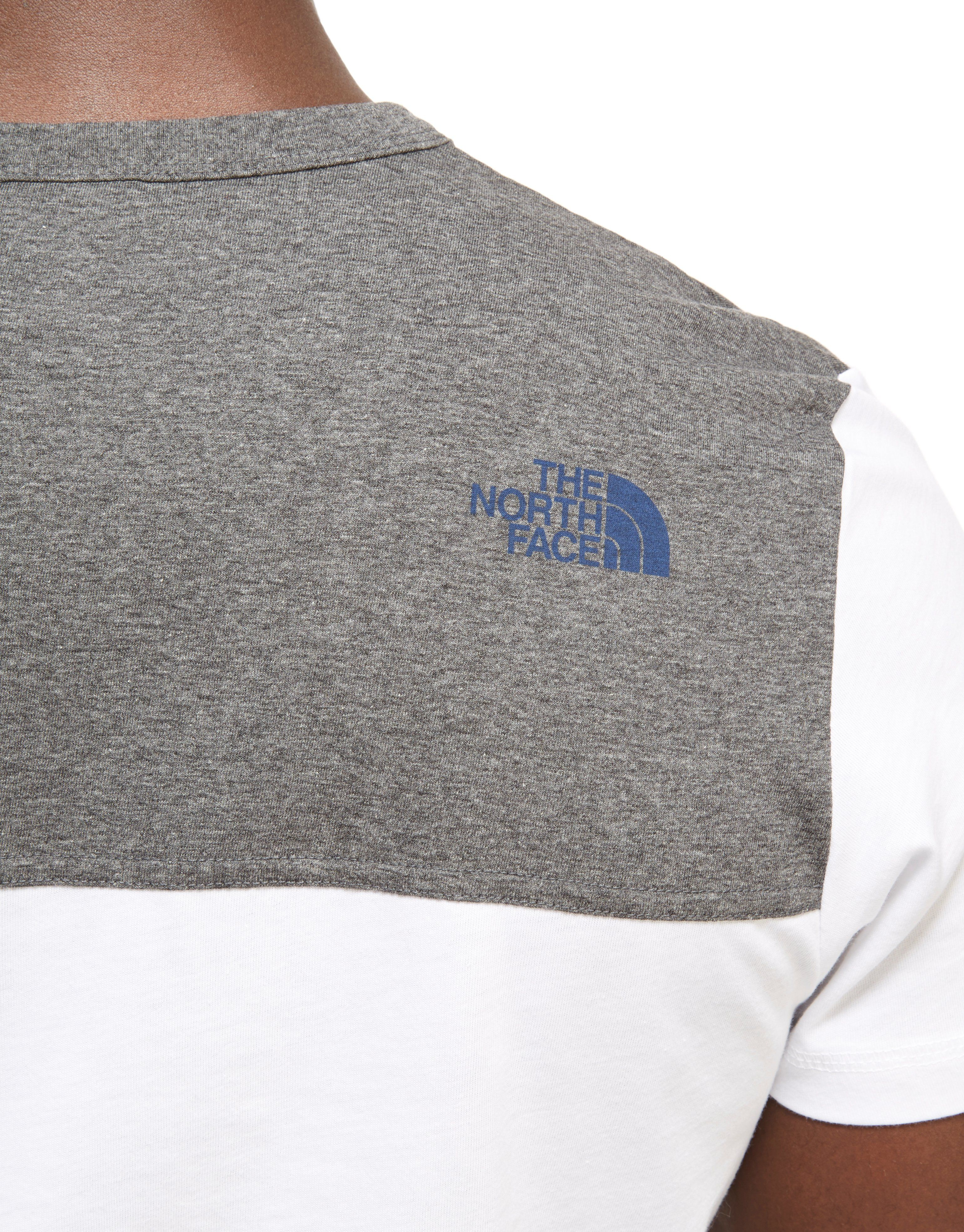 The North Face Colour Block T-Shirt Heren