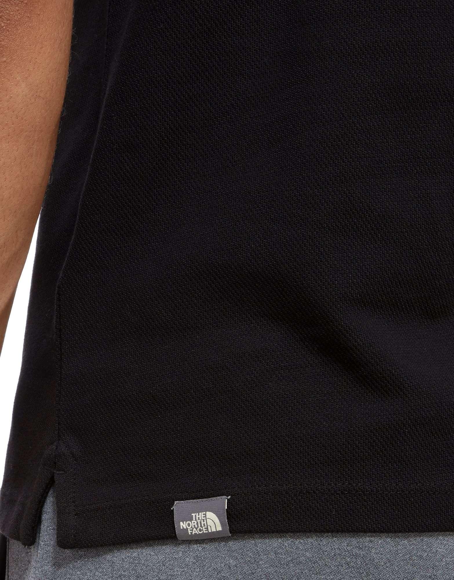 The North Face Colour Block Poloshirt Heren