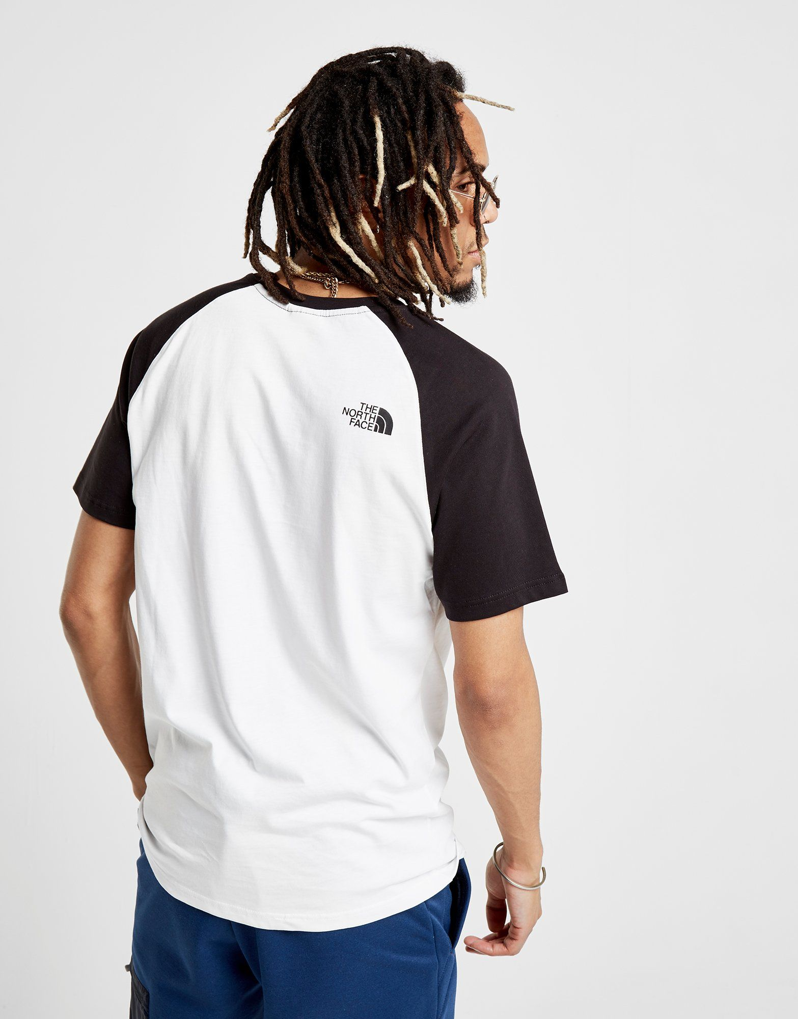 The North Face Raglan T-Shirt Weiss