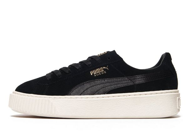 puma suede platform satin women 39 s jd sports. Black Bedroom Furniture Sets. Home Design Ideas