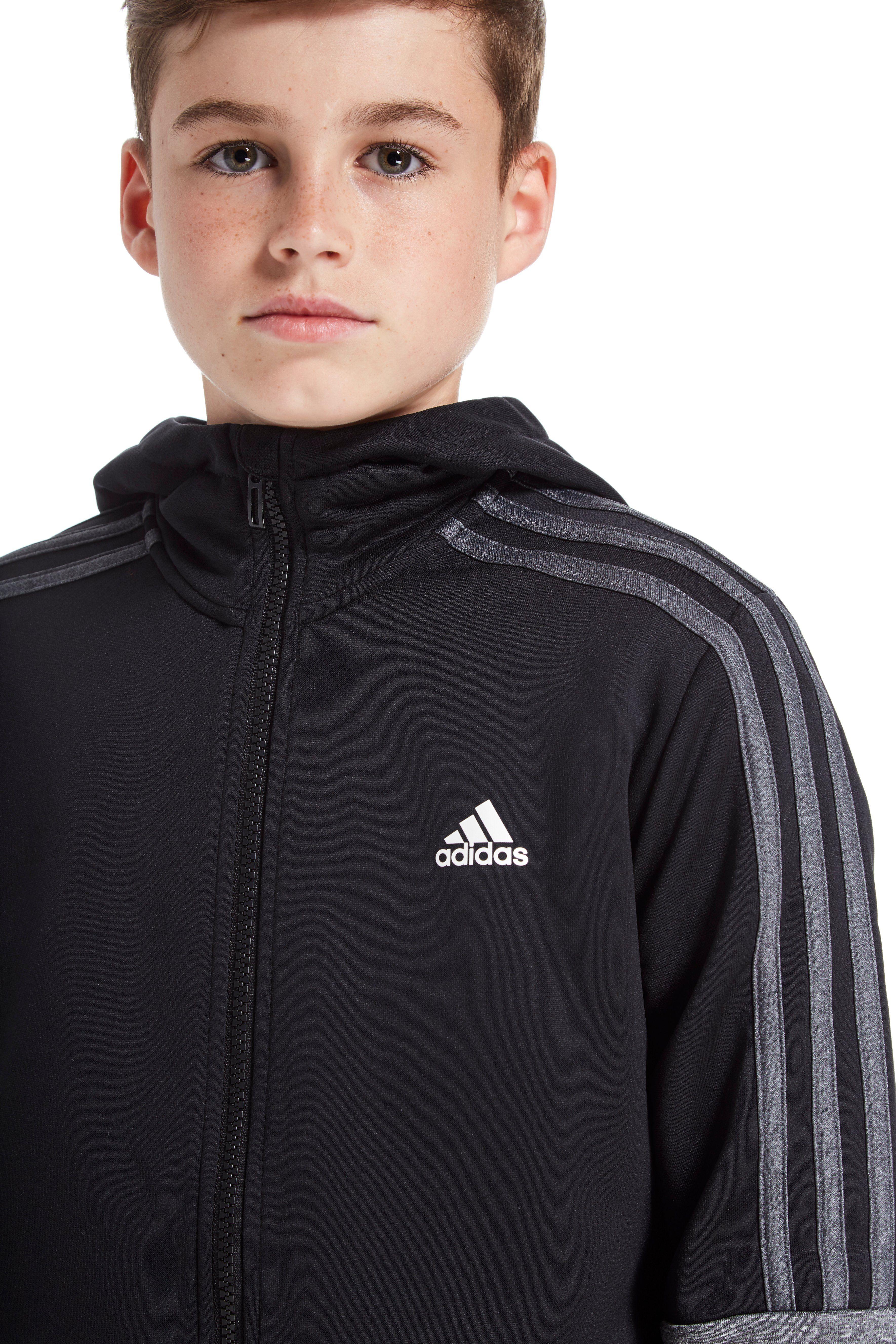 adidas poly stricken trainingsanzug junior jd sports