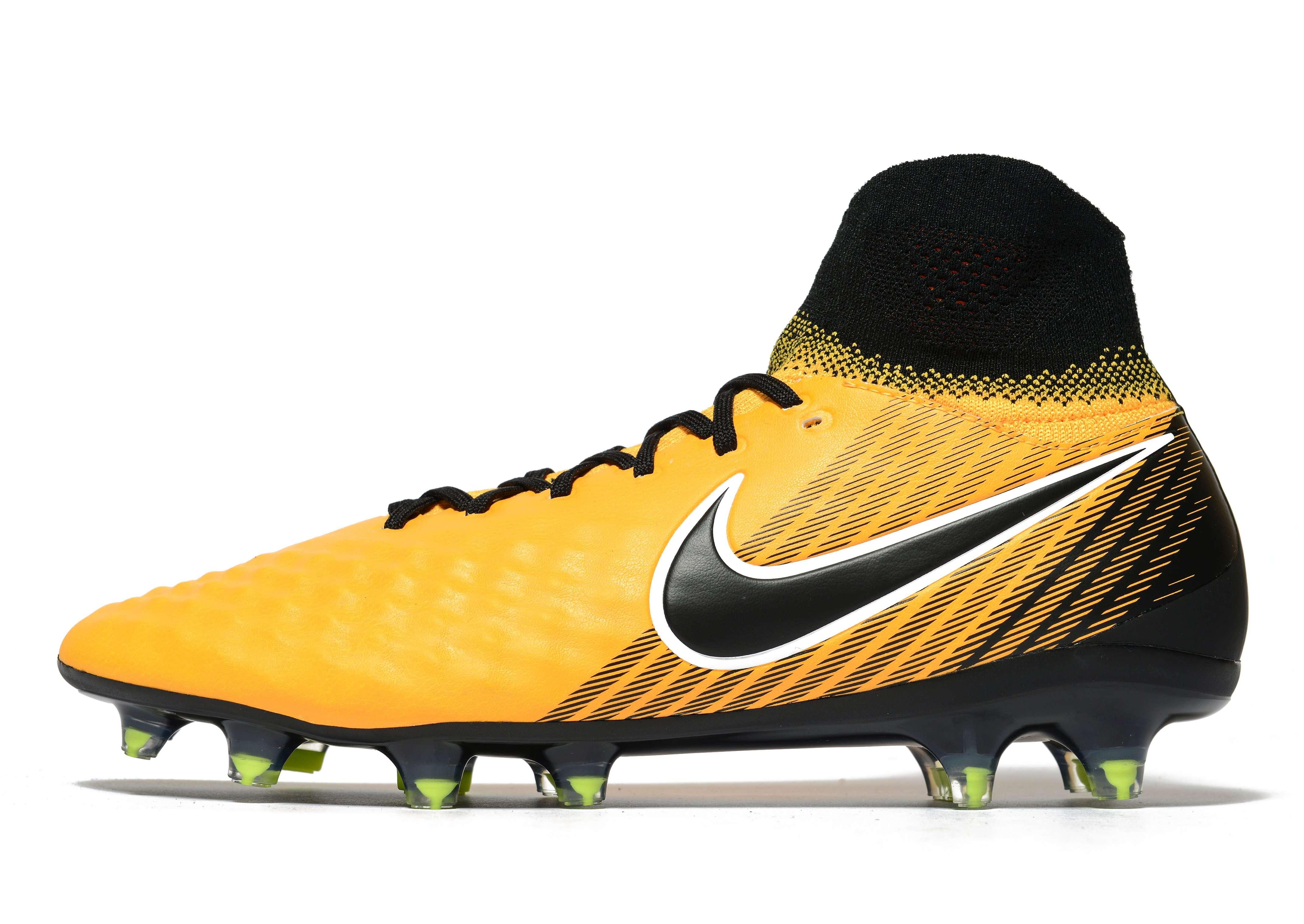 Nike Lock In Let Loose Magista Orden FG - Men's Football Boots - Orange 280494