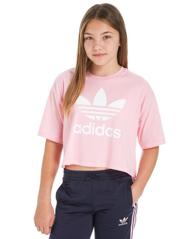 adidas cropped top shirt