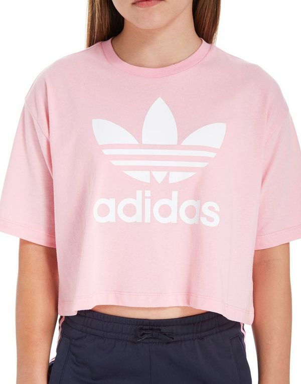 adidas cropped t shirt