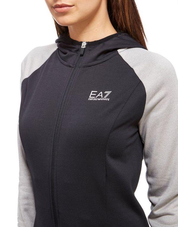 Emporio Armani EA7 Full Zip Hoody - Blue
