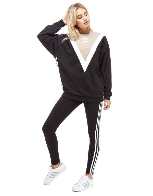 adidas originals chevron sweatshirt jd sports. Black Bedroom Furniture Sets. Home Design Ideas