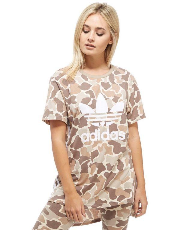 adidas shirt camouflage damen