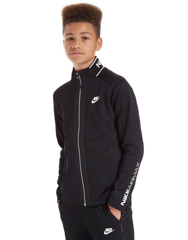 Nike Max Poly Track Top Black - Mens Track Tops