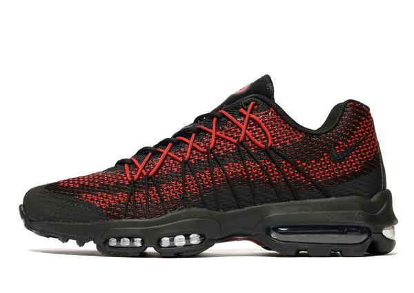 air max 95 ultra black and red