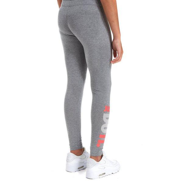 nike girls 39 just do it leggings junior jd sports. Black Bedroom Furniture Sets. Home Design Ideas
