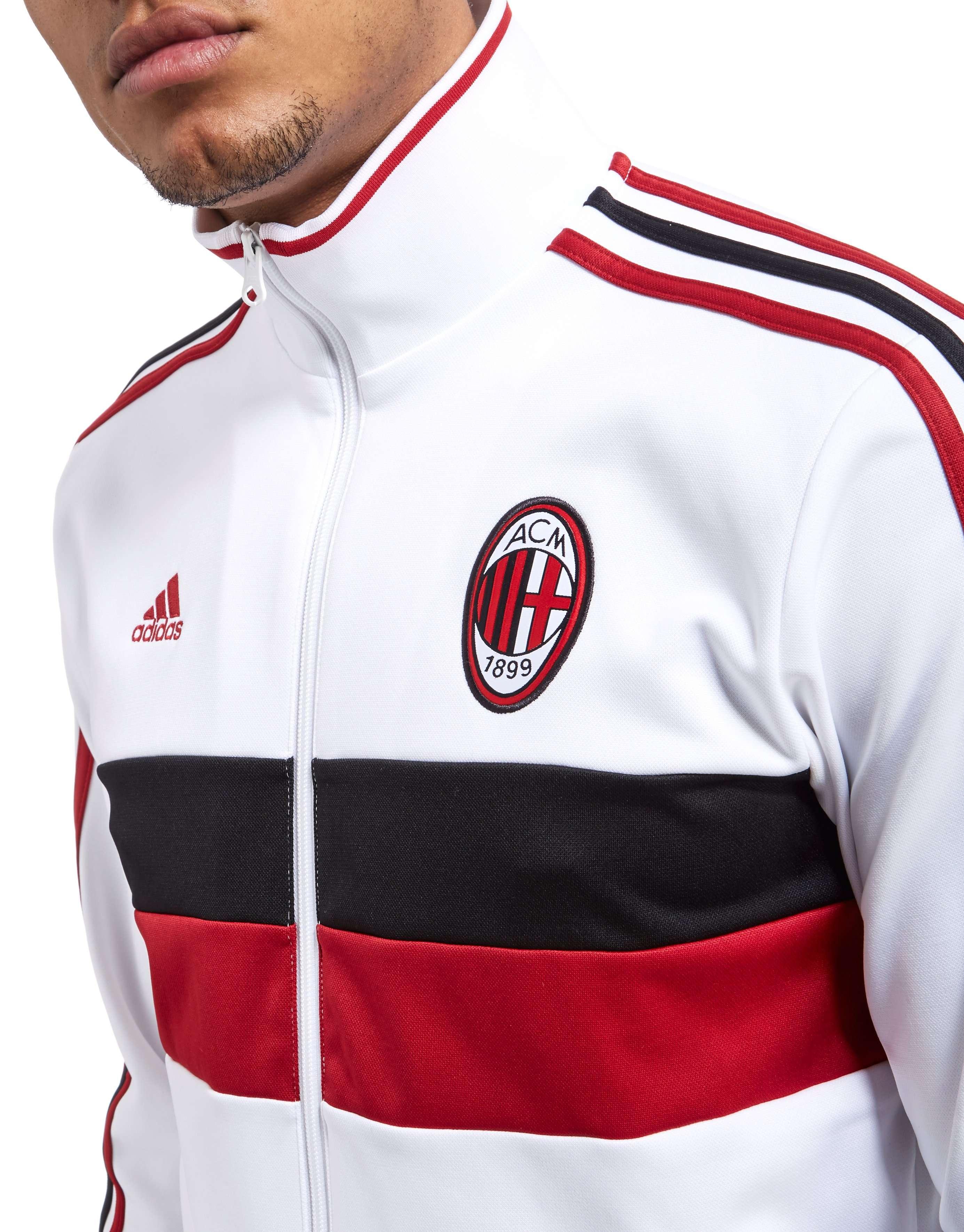 adidas AC Milan 3 Stripe Track Top
