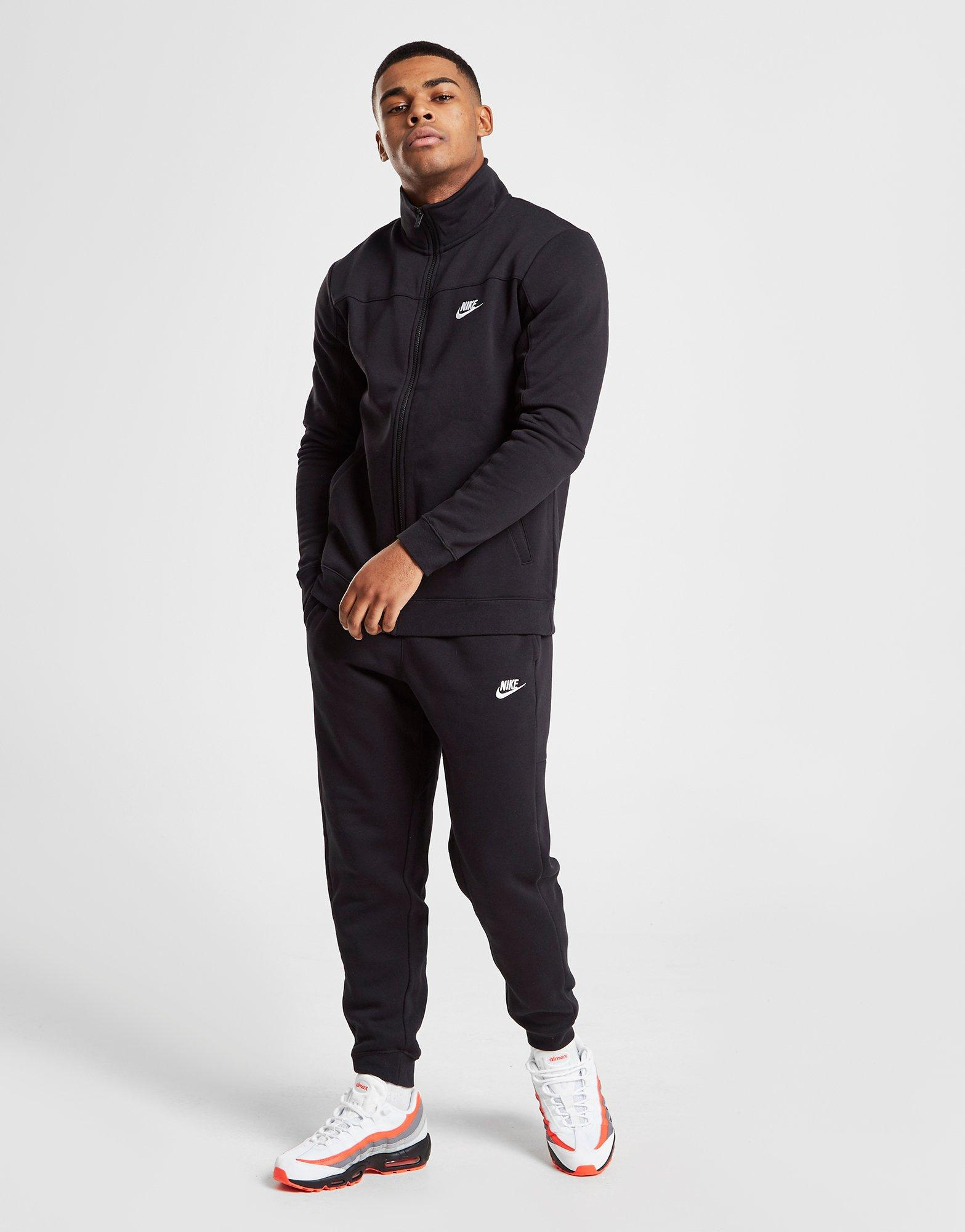 jd blue nike mens tracksuit