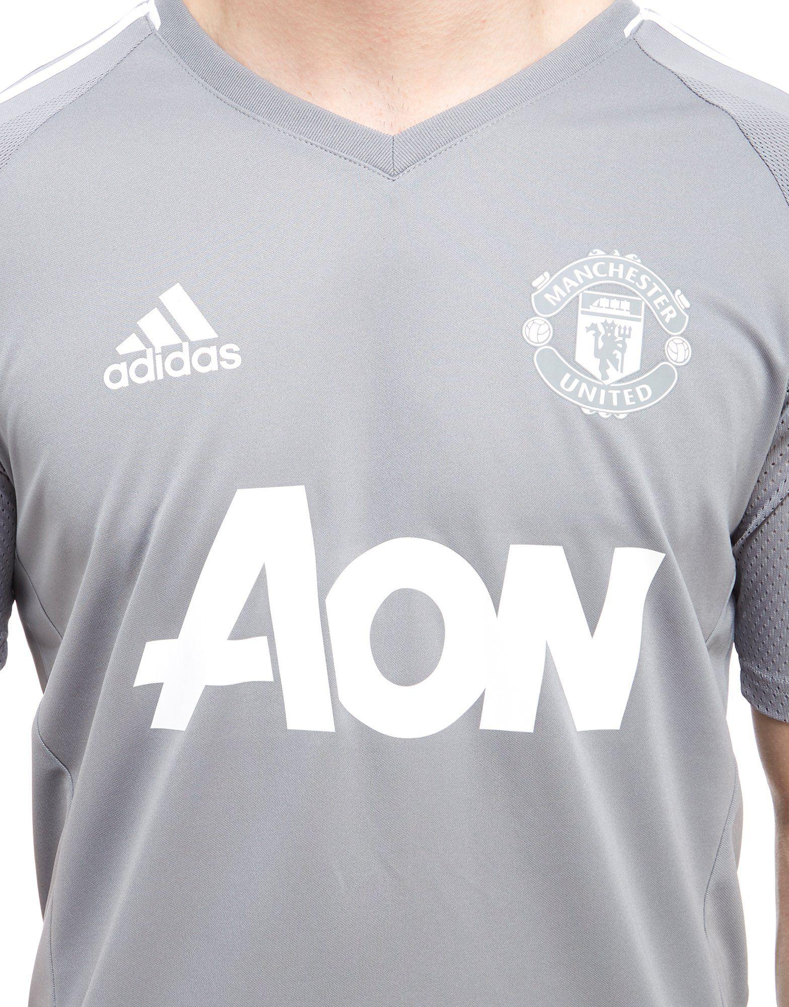 adidas 2017 Manchester Shirt United Grau adidas Training Manchester d1wq4C4