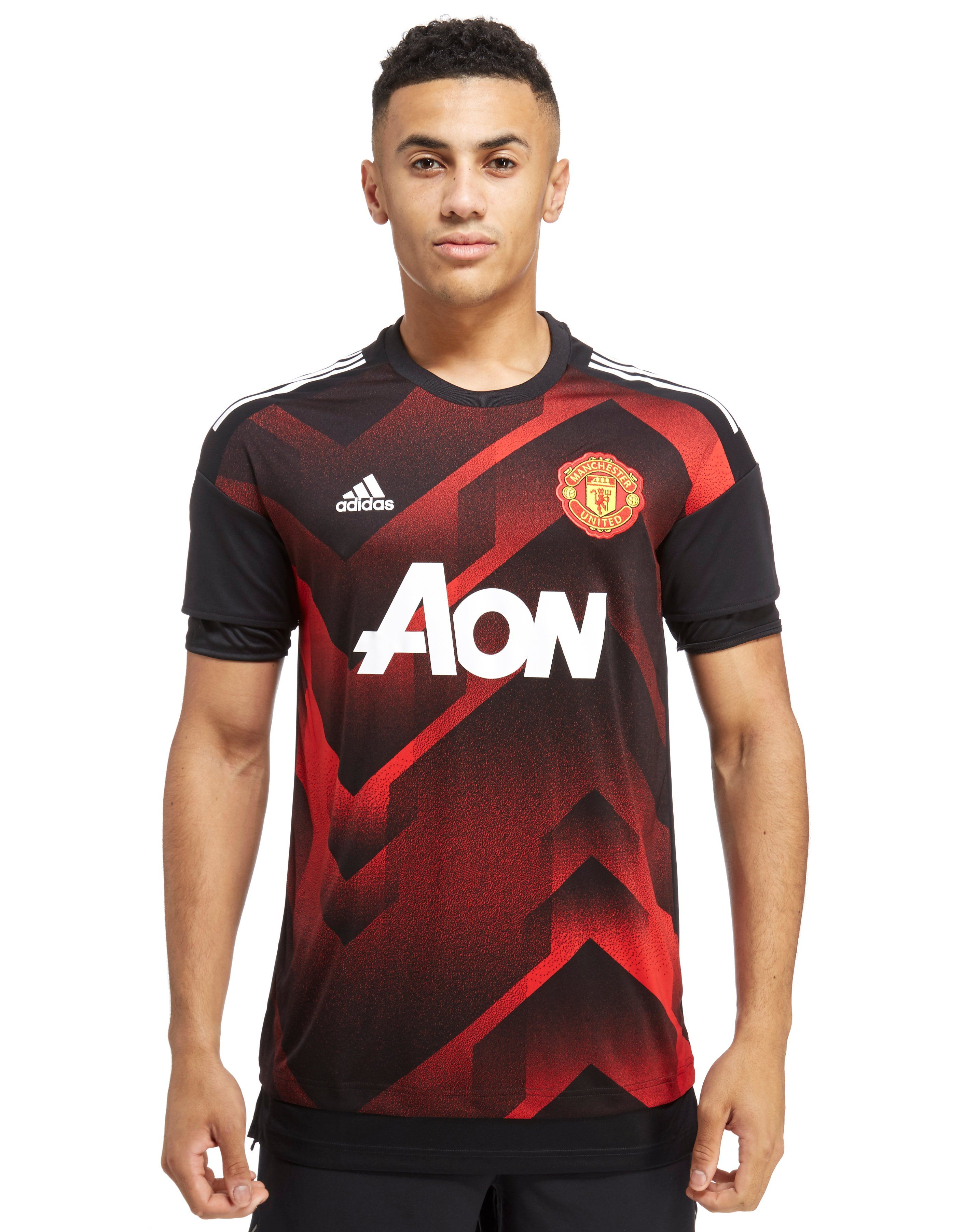 adidas Manchester United 2017 Pre Match Top