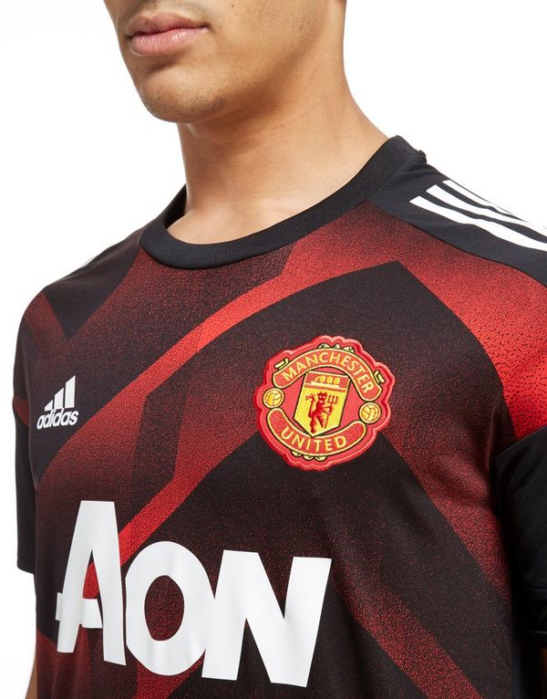adidas Maillot Manchester United 2017 Pre Match Homme