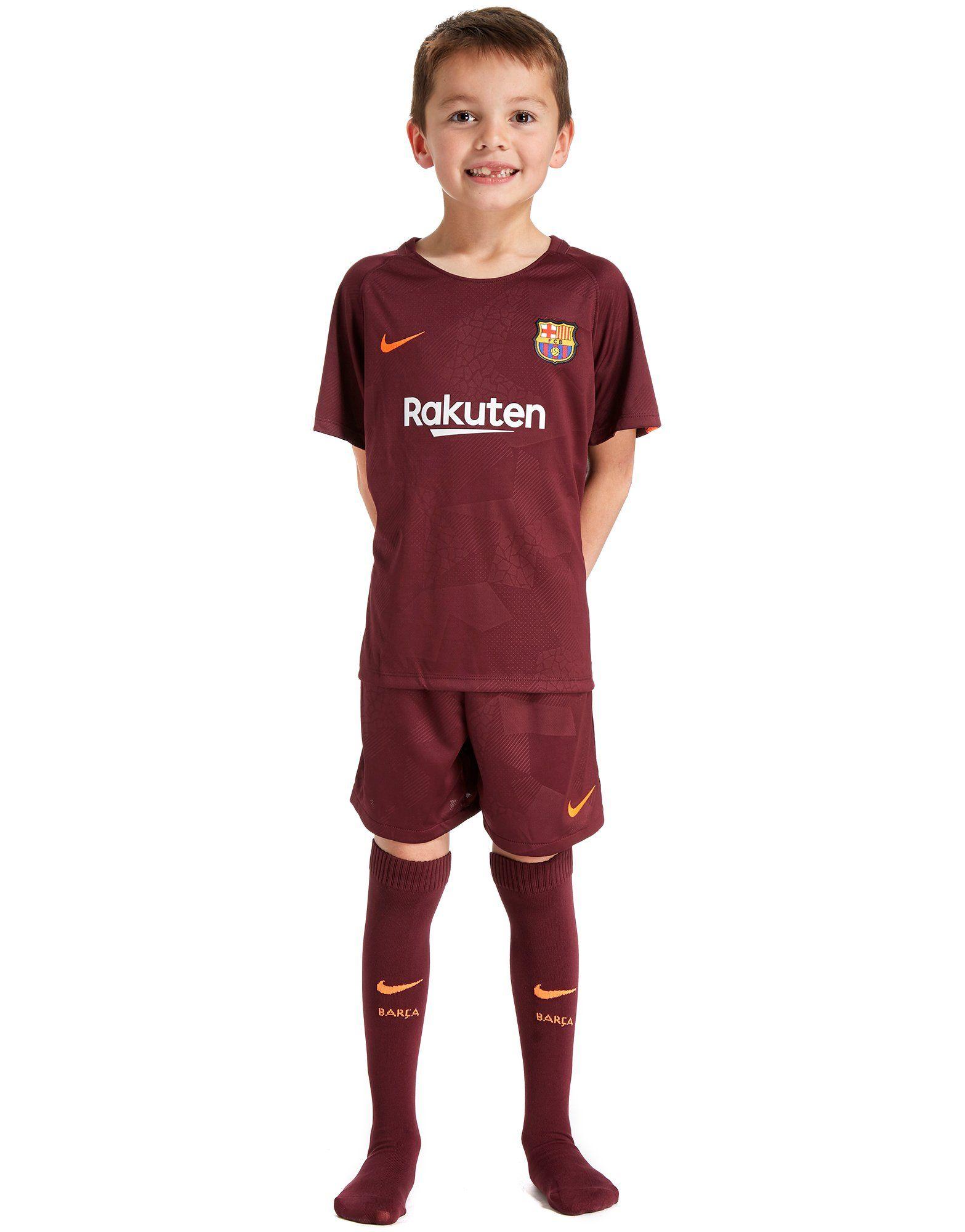 Nike FC Barcelona 2017/18 Third Kit Children