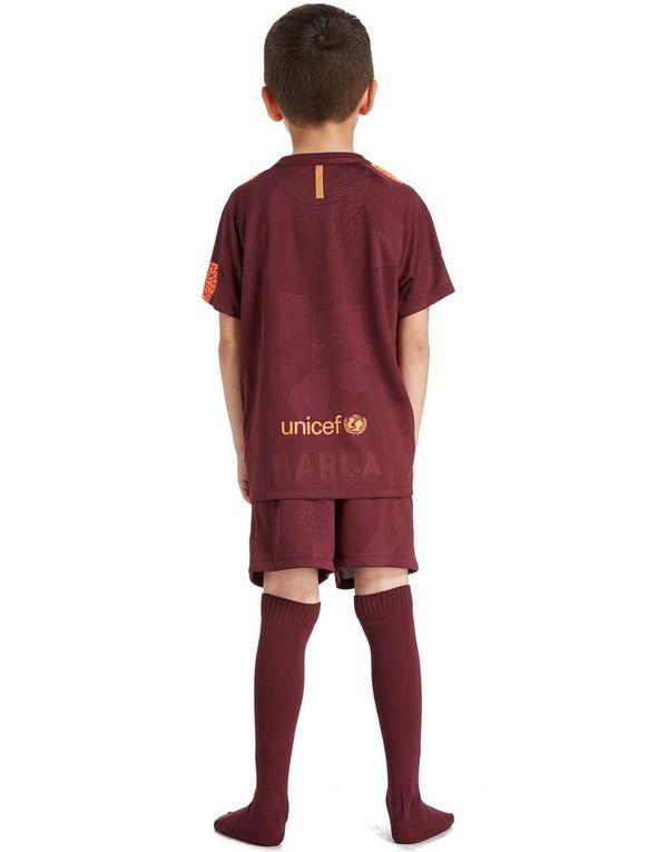9a196a69d4dc Nike FC Barcelona 2017 18 Third Kit Children