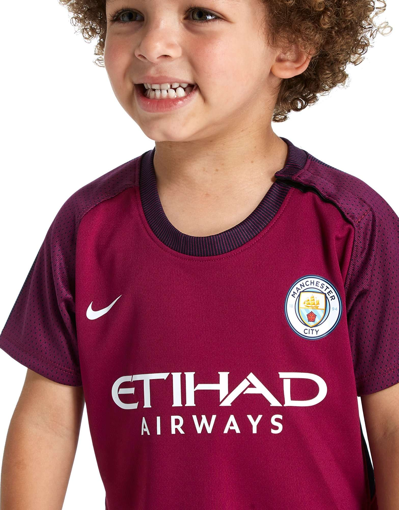 Nike Manchester City 2017/18 Away Ensemble Enfant