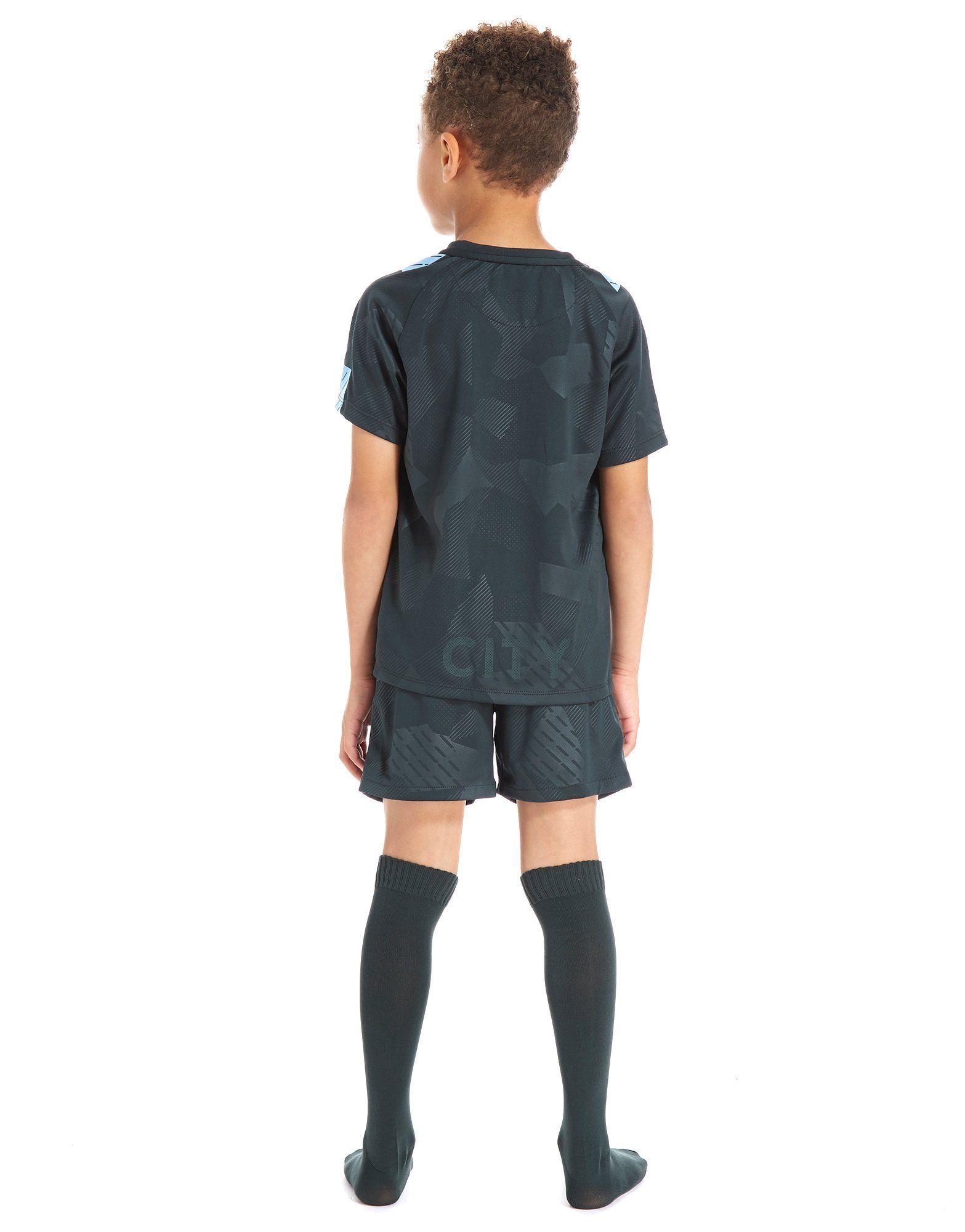 Nike Manchester City FC 2017/18 Third Kit Children