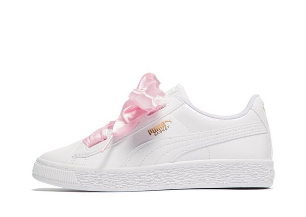 puma kinder basket heart