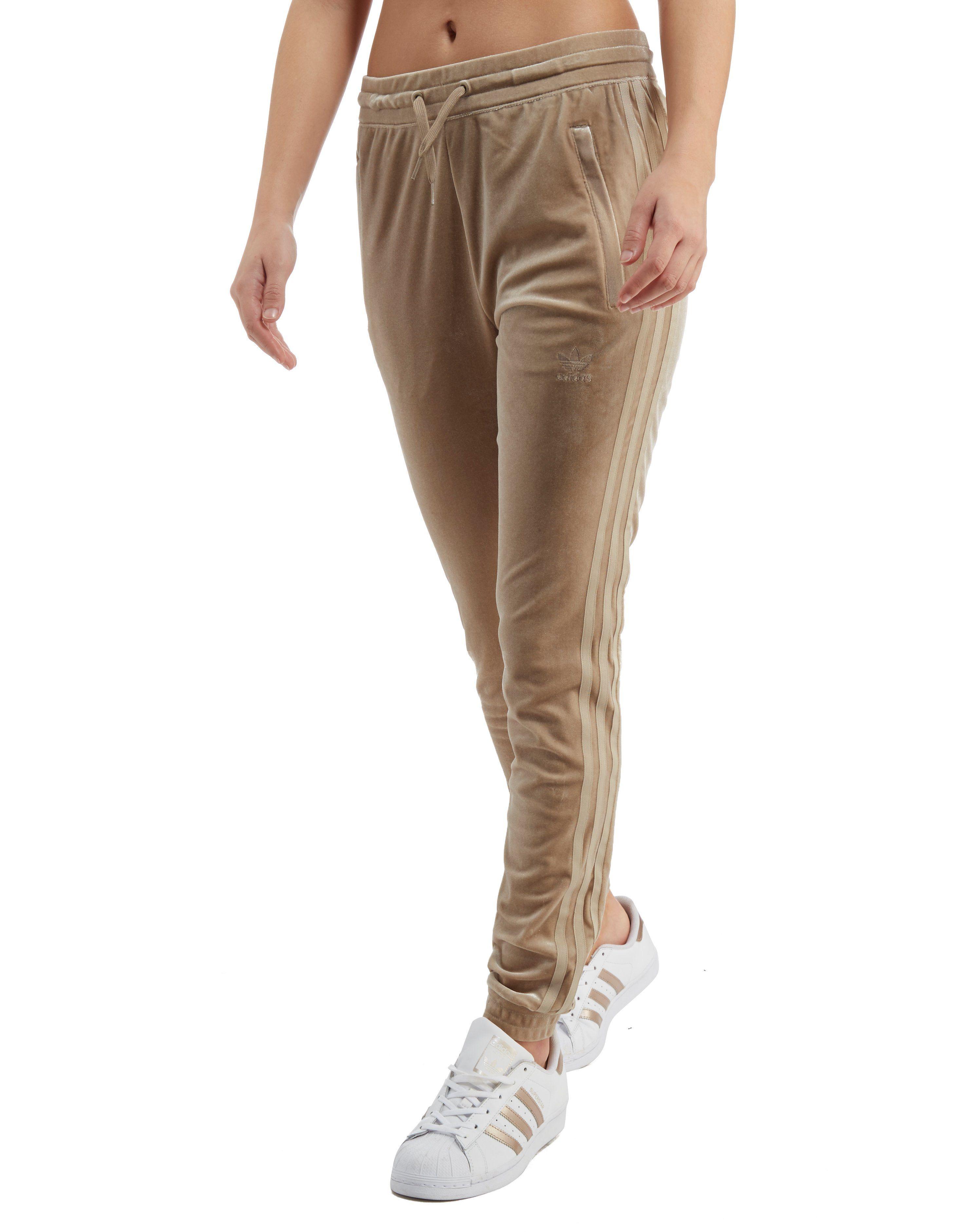 6c75ce71ed16 adidas Originals Velvet Vibes SST Track Pants