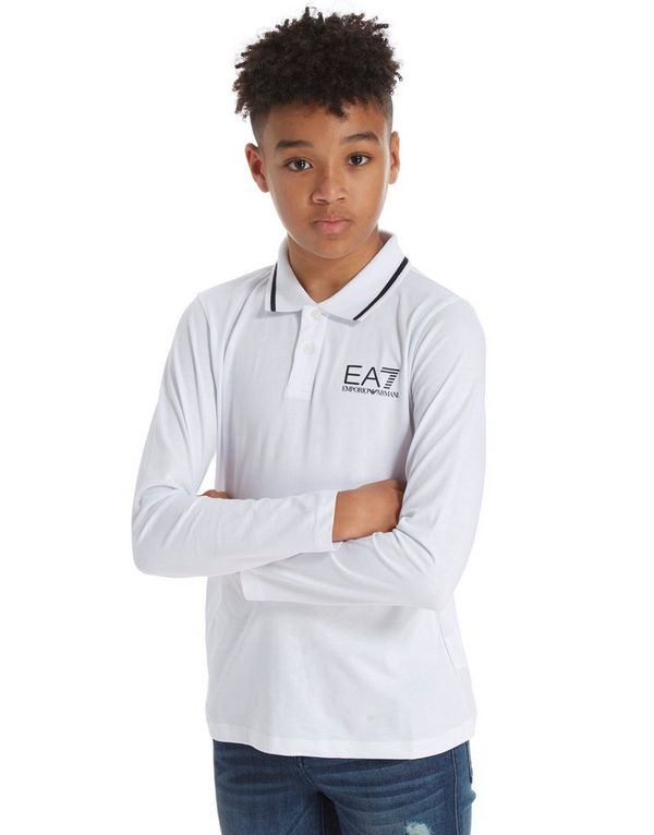 Jersey Ea7 Polo Sports Armani Emporio Manica JuniorJd Lunga N8n0vOmw