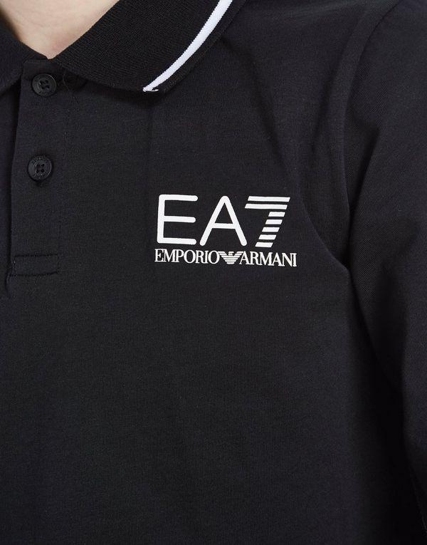 fc2c585f3 ... cheapest emporio armani ea7 long sleeve jersey polo shirt junior 7472a  d7c0b ...