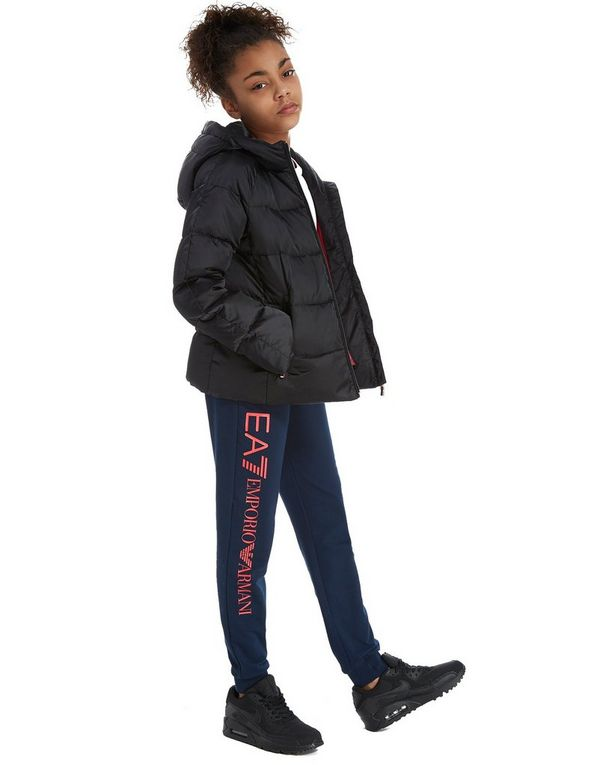Emporio Armani EA7 Girls' Shiny Down Jacket Junior | JD Sports