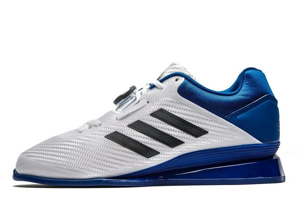 adidas Leistung 16 II Weightlifting Shoes - Men's Fitness Trainers - Blue 285555