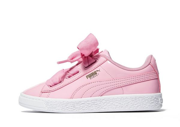 puma basket heart kids