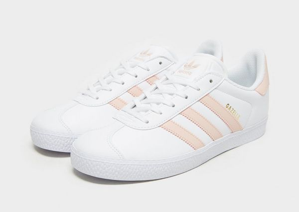Adidas Gazelle Pink And White
