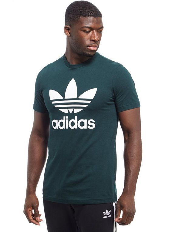 adidas trefoil t shirt jd