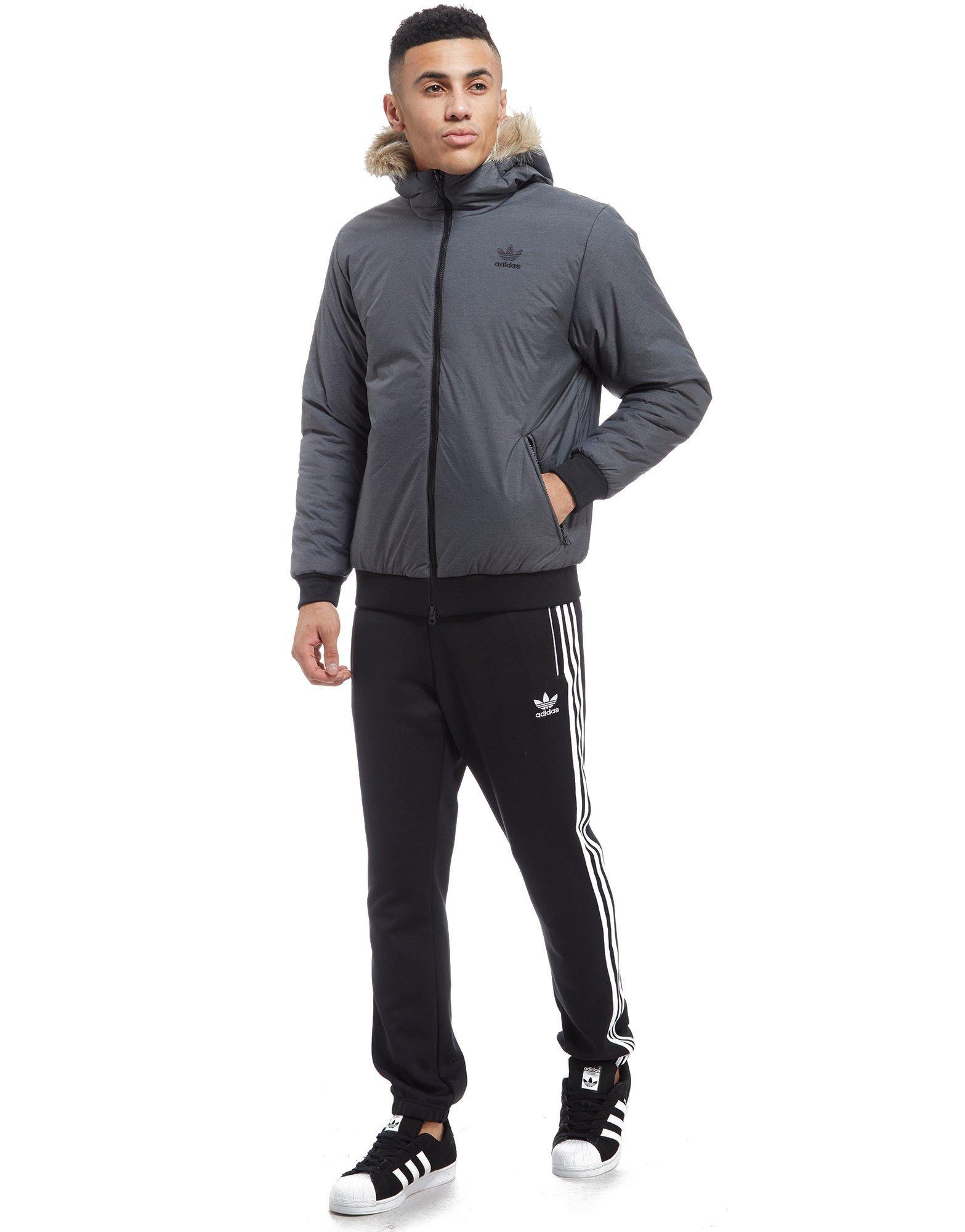 Adidas originals padded parka mens