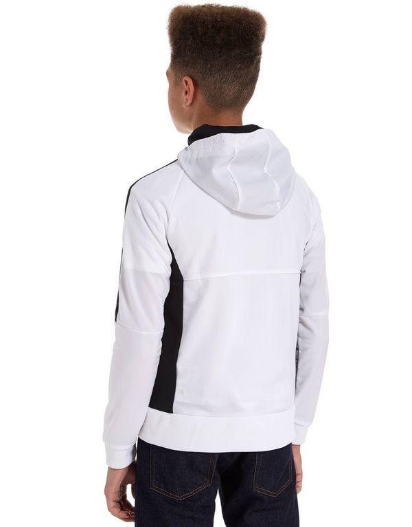 sudadera blanca adidas con capucha
