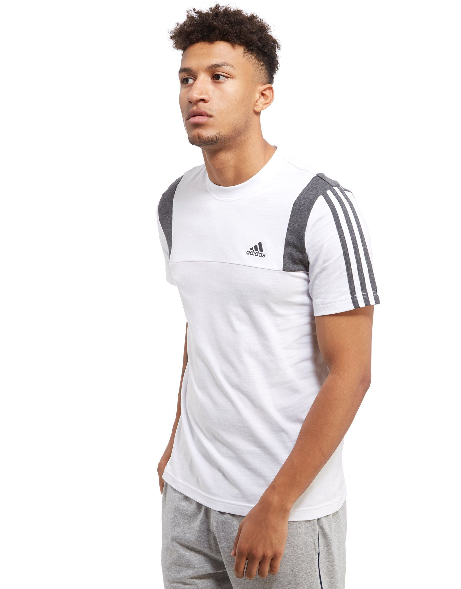 3 Stripe Essentials T-Shirt