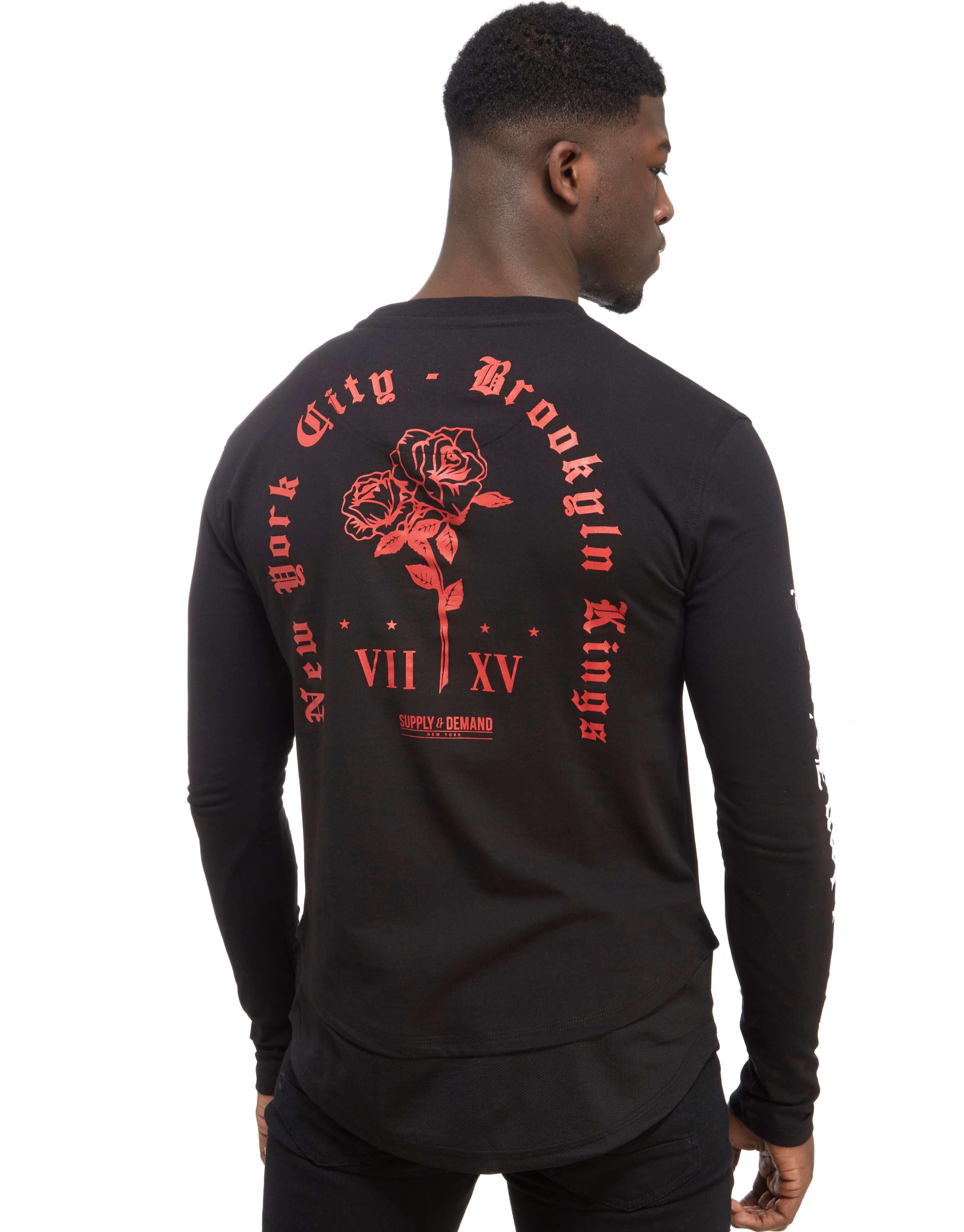 Supply & Demand Romantic Langærmet T-shirt