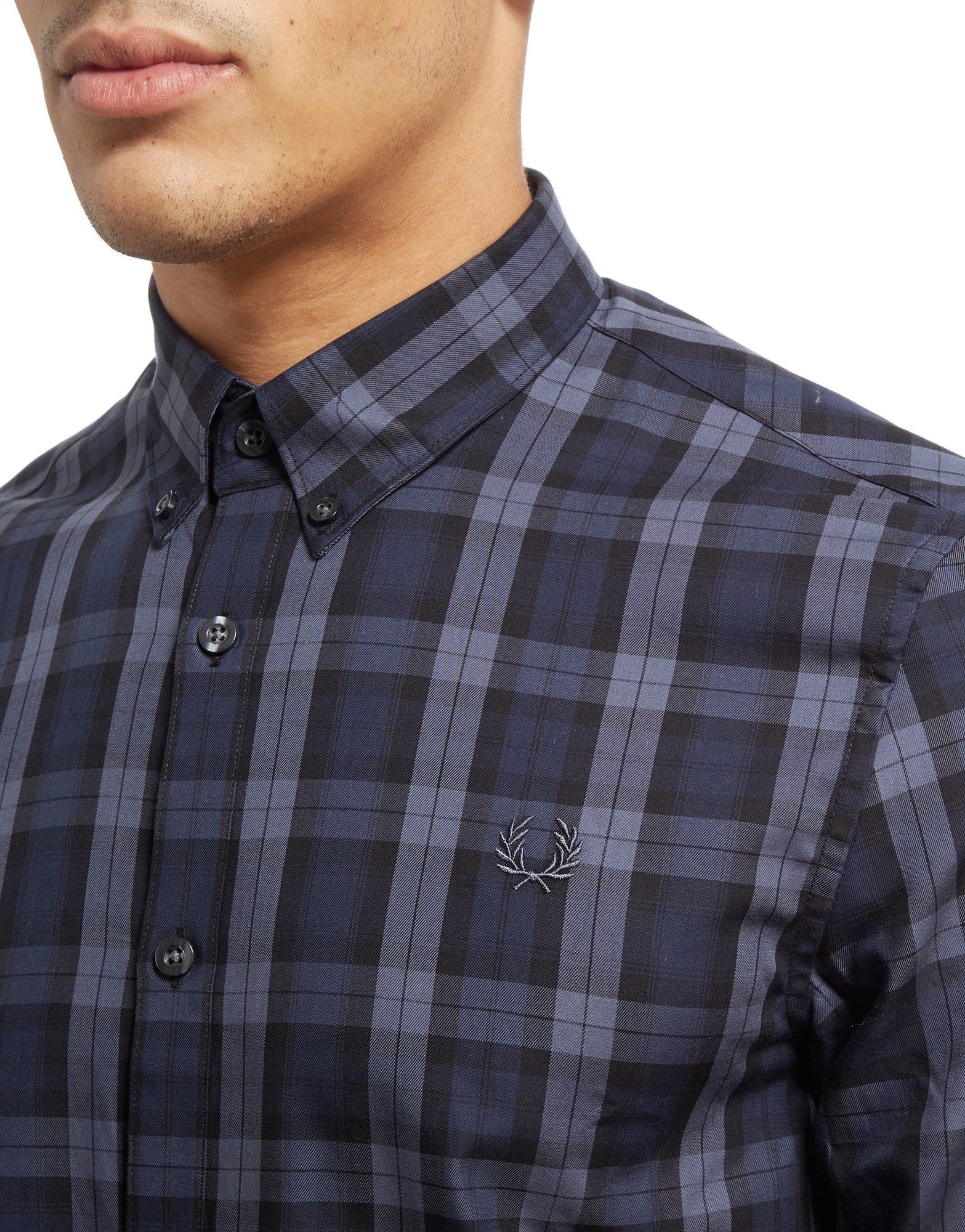 Fred Perry Plaid Tartan Shirt
