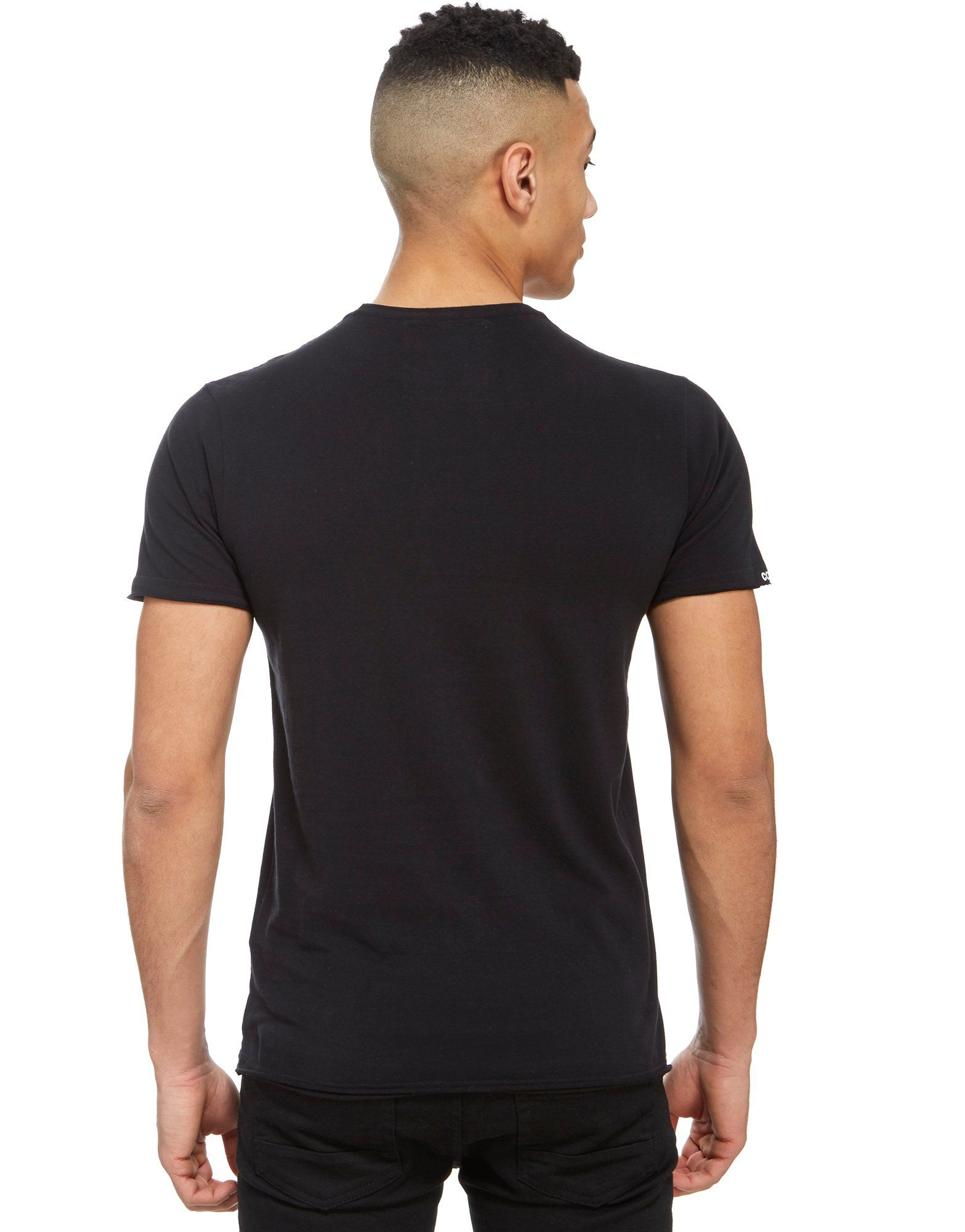 COPA George Best United T-Shirt Schwarz