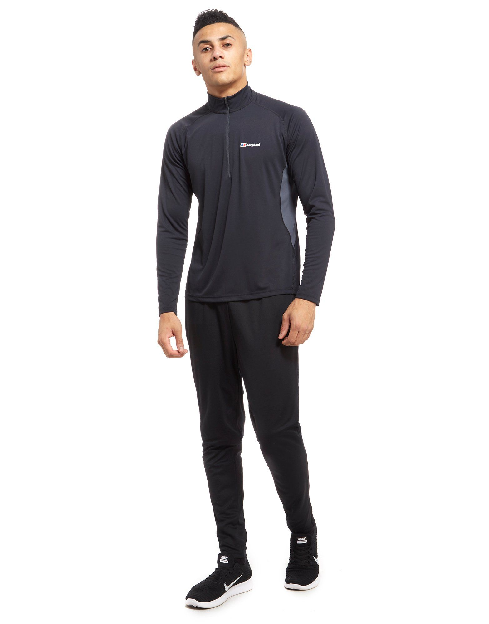 Berghaus Tech Long Sleeve 1/2 Zip Top